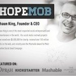 HopeMob founder's latest project uses celebrity influence for social good
