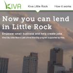 President Bill Clinton Helps Launch Kiva City Little Rock