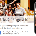 """""""One Today"""" Adds Crowdfunding Layer Onto Google Plus"""