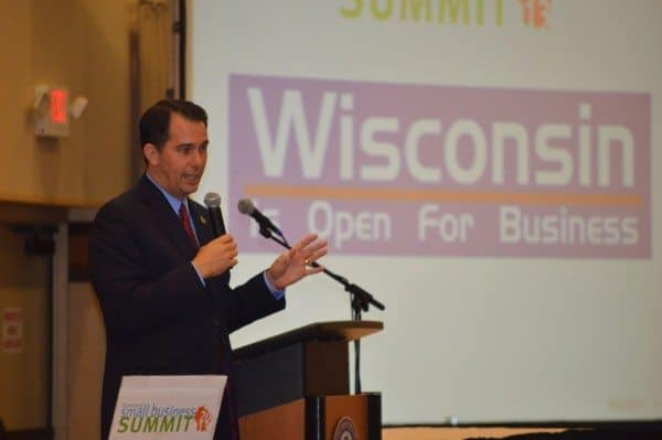 Governor Walker Wisconsin Open For Business