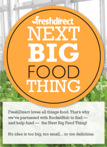 Next Big Food Thing RocketHub