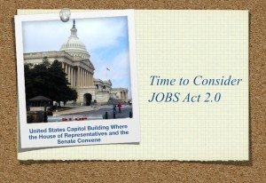 US Capitol Time to Consider JOBS Act 2.0