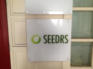 Seedrs Office Sign