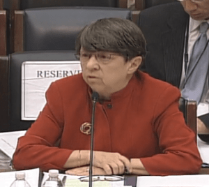 Mary Jo White Financial Services Committee