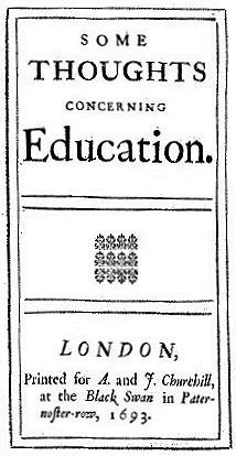 Locke Education 1693