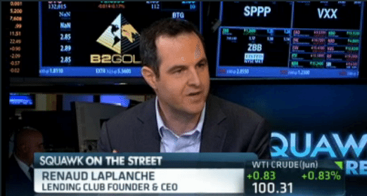 Renaud LaPlanche on CNBC