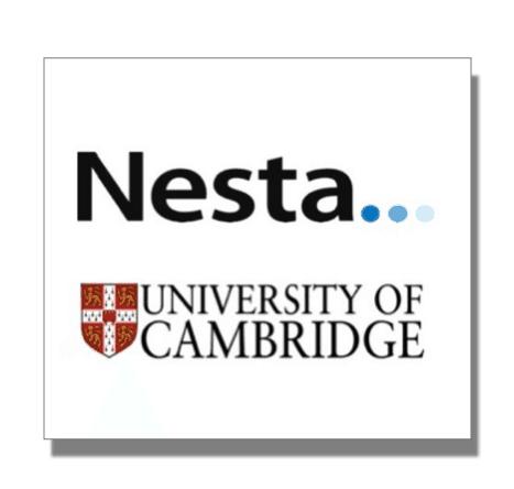 NESTA and Cambridge