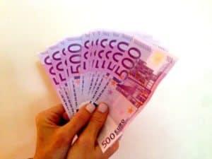 Thousands of Euros 500 Money