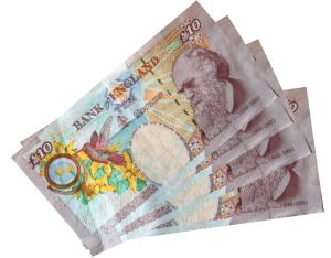 British Pounds Money £10