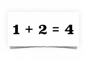 Bad Math Equation
