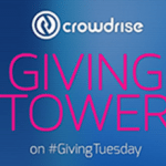 CrowdRise Community To Build World's First Giving Tower For #GivingTuesday