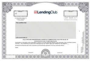 LendingClub Common Stock