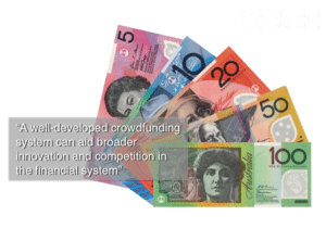 Australia Currency Crowdfunding Quote