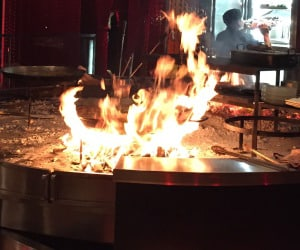 Fire Cook Hot