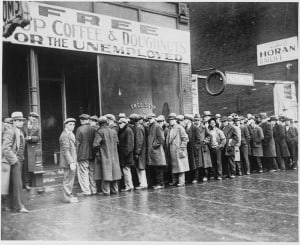 Great Depression Soup Kitchen Unemployed