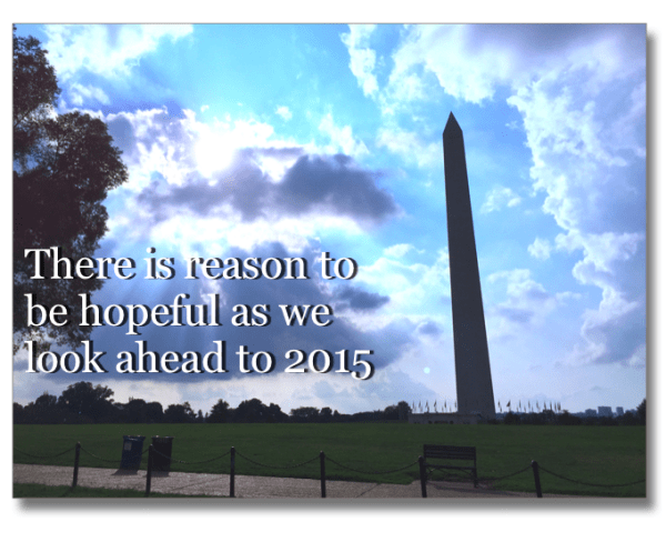 Reason to Be Hopeful 2015 Washington DC