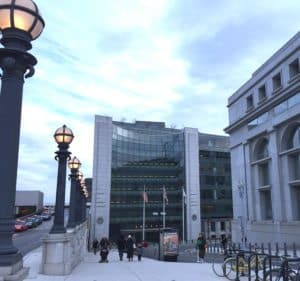 Walking to the SEC Securities and Exchange Commission