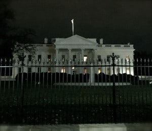 White House Lights Out Dark