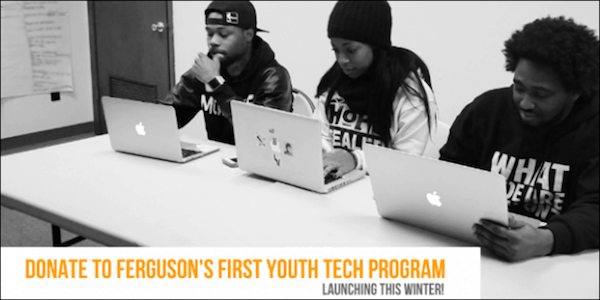 Hands Up United Launches GoFundMe Campaign For New Ferguson Youth Tech Program