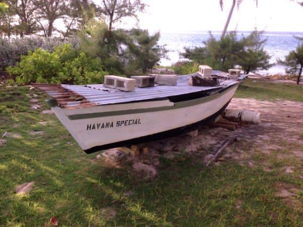 havana special boat beached