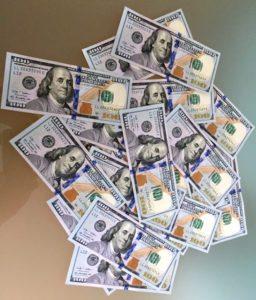 money dollars 100s benjamin franklin