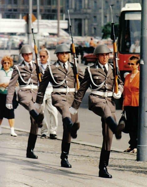 Nva-ehrenwache East German Soldiers by Michail Jungierek