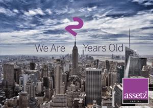 Assetz Capital Celebrates 2 years