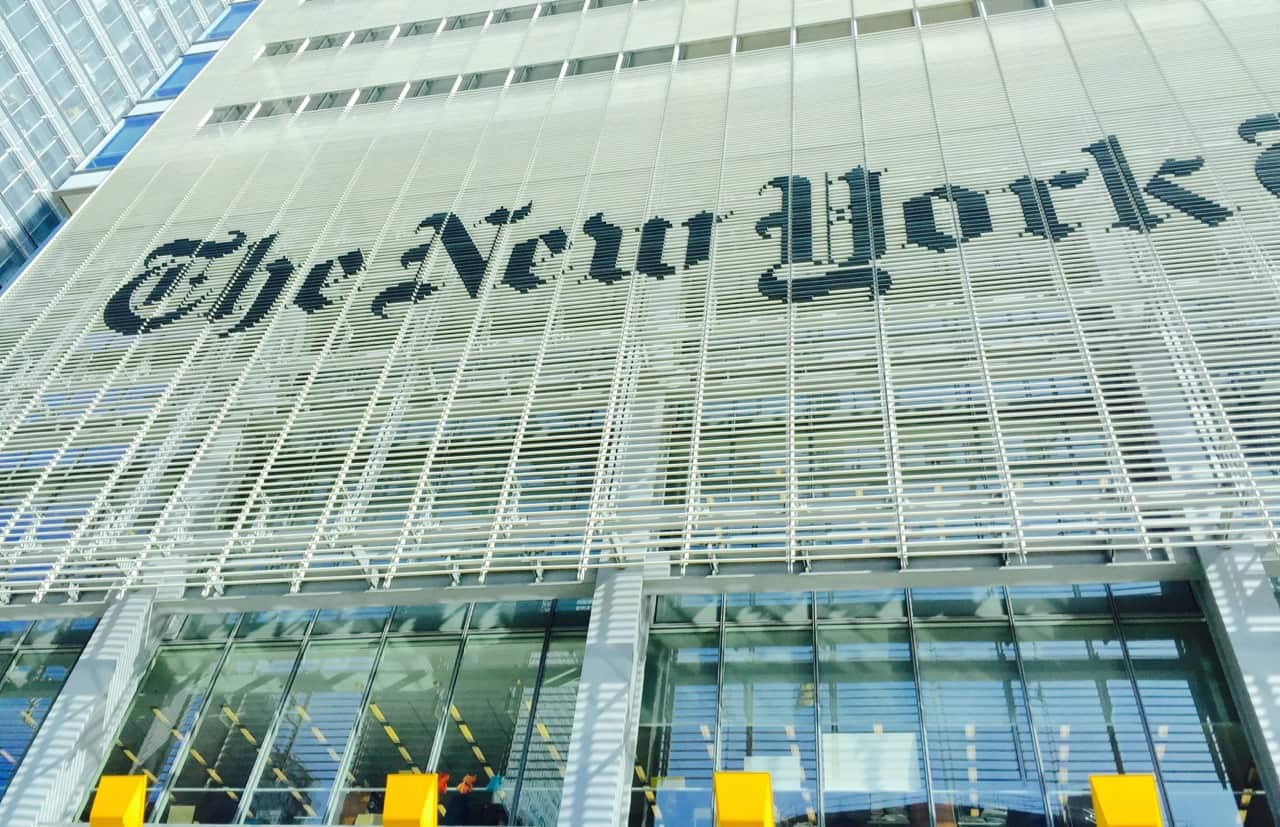 """New York Times Trialing """"Blockchain"""" to Combat Photo Doctoring in Fake News"""