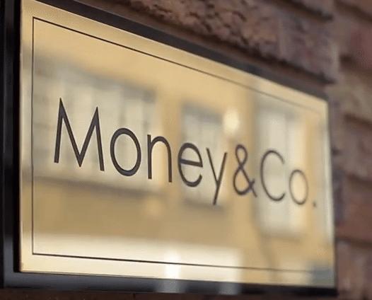 Money&Co sign