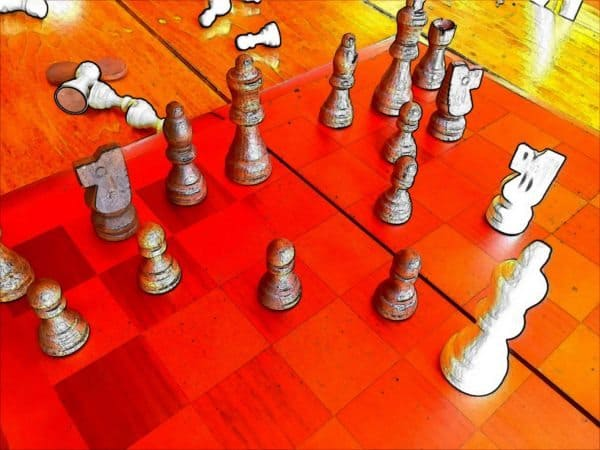 Chess Enigma Problem Strategy
