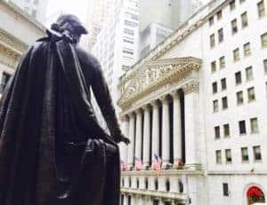 George Washington NYSE Stock Exchange