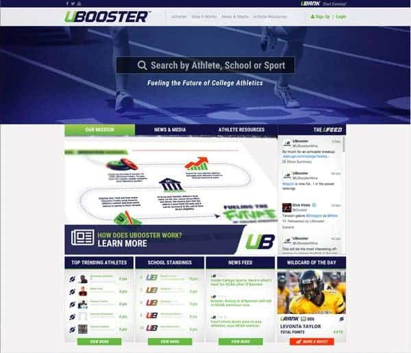 Crowdfunding Platform UBooster Launches to Help Collegian Athletes