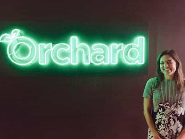angela ceresnie at Orchard