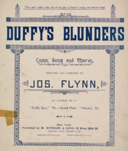 Duffy's Blunders Errors Mistakes