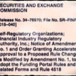 FINRA Portal Rules for Equity Crowdfunding Under Title III of the JOBS Act