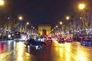 Paris France Champs Elysee Europe