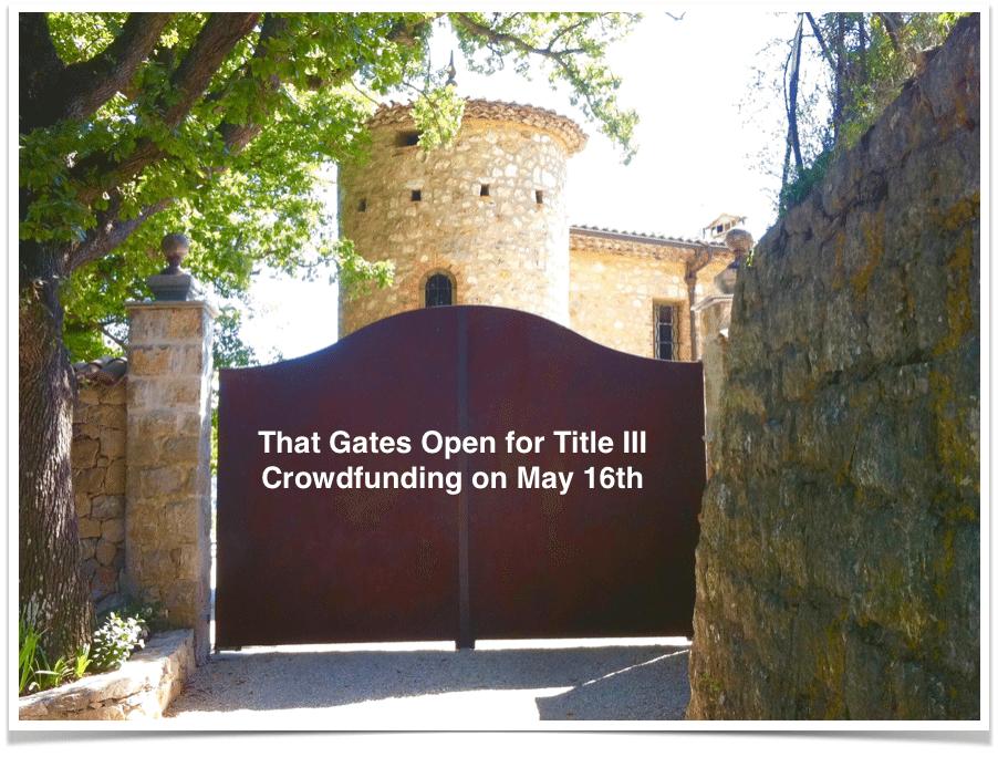 Crowdfunding Portals Prepare for Title III Retail Crowdfunding