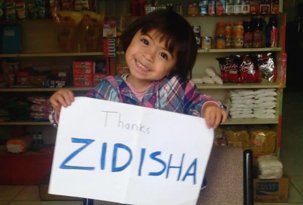 zidisha thanks