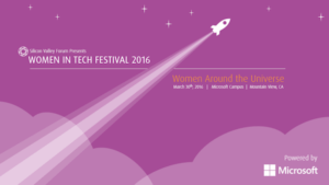 Women Who Tech Festival 2016