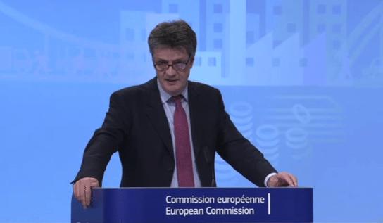 EU Commissioner Jonathan Hill