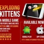 """Kickstarter Alum """"Exploding Kittens"""" Is Now Available on Android"""