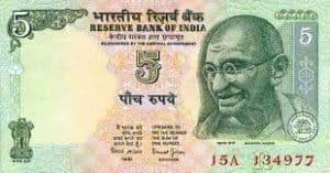 India Money Rupee Ghandi