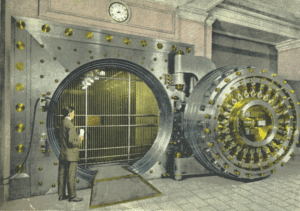 Safe Secure Bank Vault