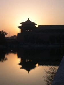 China Forbidden City Sunset Beijing