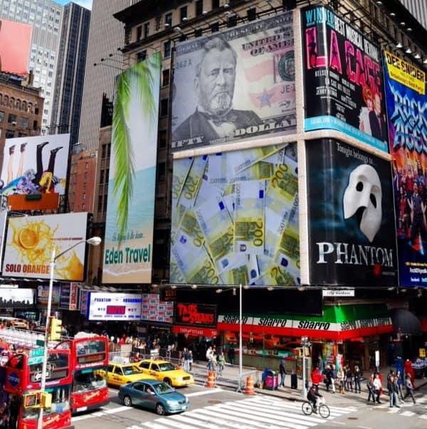 Money Time Square