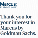Goldman Sachs Shares Few Details on Marcus Progress During Quarterly Call