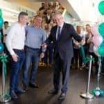 Treasurer of Australia Scott Morrison Visits Online Lender Prospa's New Office in Darlinghurst