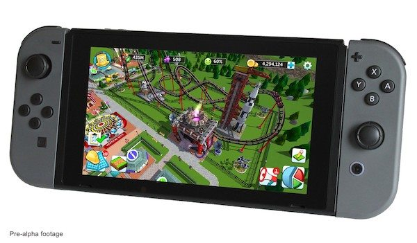 Atari Launches StartEngine Campaign to Bring Roller Coaster Tycoon to Nintendo Switch
