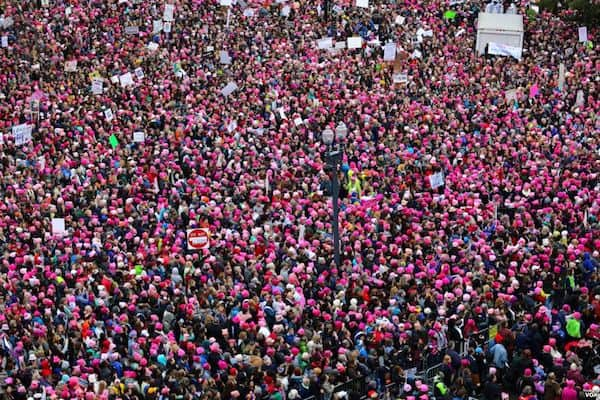 CrowdRise & GoFundMe Announce More Than $400,000 Was Raised on Both Platforms for the Women's March 2018