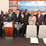 Bermuda Premier & Minister of Finance David Burt Signs MOU With Cryptocurrency Exchange Binance